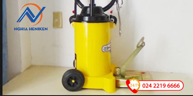 Cấu tạo chân máy bơm mỡ Kocu Gz 6J