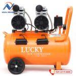 Máy nén khí LUCKY 50L H50L không dầu 2HP