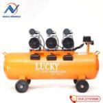 Máy nén khí LUCKY 90L H90L 3Hp không dầu