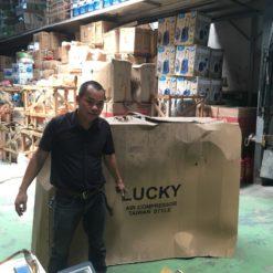 May Nen Khi Lucky 500 Lit 20 Hp