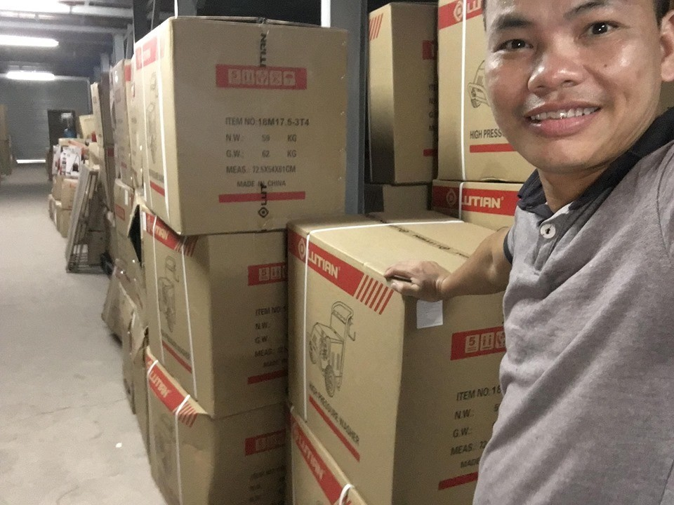 Nghĩa Heniken phân phối máy rửa xe Lutian chính hãng