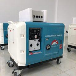 máy phát điện chạy dầu 7500eat Co Ats