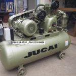 Máy nén khí Jucai 300 lít model AW80012 2 cấp, 10Hp, áp 12